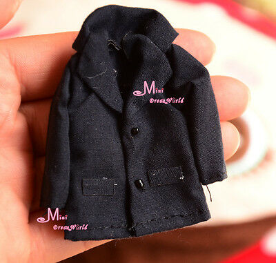 1/12 Scale Dollhouse Miniature Dark blue Clothes Jacket