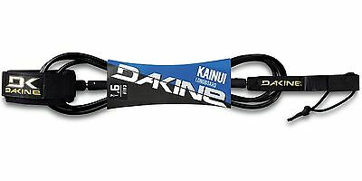 "Dakine Longboard Kainui 9' x 1/4"" Calf Leash Long Board 6280205 Black"