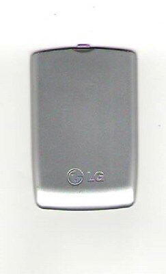 Lot Of 2 Used Oem Battery Door Back Cover Lg Lx280 Ux280 Wine Silver