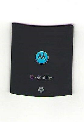 Lot Of 3 Used Oem Battery Door Back Cover Motorola V8 Razr 2 T Mobile Blue