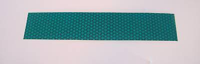 """Green Reflective Reflexite V92 Tape 8 pieces 2"""" x 5"""""""