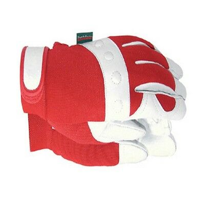 Town & Country T/CTGL104S TGL104S Comfort Fit Red Gloves Ladies - Small