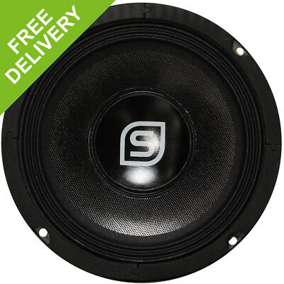 "Skytec 6.5"" Black Hi-Fi PA Speaker Driver Spare Replacement Part Component 250W"