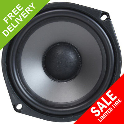 "Monacor SPH-135TC 4.5"" Hi Fi Bass Mid Range Replacement Speaker Woofer Driver"