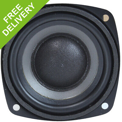"Monacor SPH75/8 3"" Spare Replacement Hi-Fi Woofer Speaker Driver Component 30W"