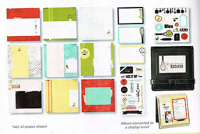 CREATIVE MEMORIES 8x8 RECIPE QUICK ALBUM KIT BNIP