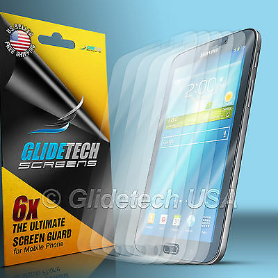 3 X Clear LCD Guard Screen Protector Cover Film For Samsung Galaxy Tab 3 7.0 7""
