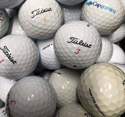 100 TITLEIST MIX palline palle da golf usate cat 2/3 STELLE (A/AA) used golf bal