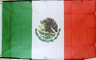3' x 5' Nylon Flag of Mexico Bandera de México Mexican National Flag NEW