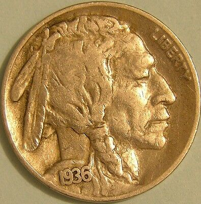 1936 S  Buffalo Nickel,  Aj 467