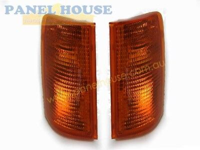 Holden Commodore VB VC Pair 1xLH 1xRH Corner / Indicator Lights Brand New Blinke