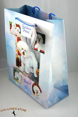 Bichon Frise Dog Gift Present Bag