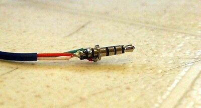 Headphones with microphone Jack Repair Replacement For 4 Pole jack service