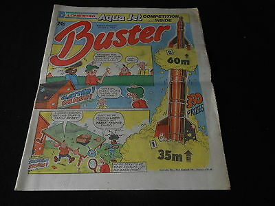 Buster comic 5th July 1986