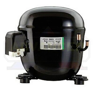 Embraco NT6215Z1 Compressor 1/2+ HP, HBP, R134a, 115V *One Year Warranty