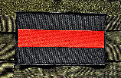 Thin Red Line Patch LG Firefighter