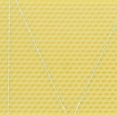 10X Langstroth Shallow Foundation - (Wired) - Beeswax  - Bee Hive Super