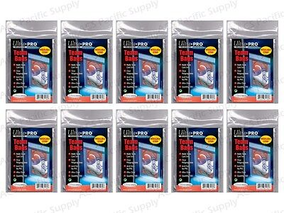 1000 Ultra Pro RESEALABLE TEAM BAGS New Set Sleeves Holders Lot 10 Packs