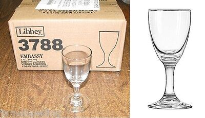 Libbey 3788 3oz. Sherry Grappa Wine Glass  CASE/12 Free Ship