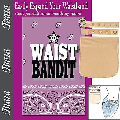 Waist Bandit Band Waistline Extenders for Weight Gain Maternity Pants & Skirts