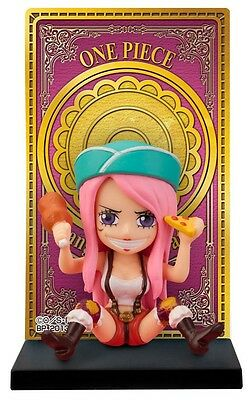 Banpresto ONE PIECE Rookie Card Stand Figure Bonney with Card Japan anime