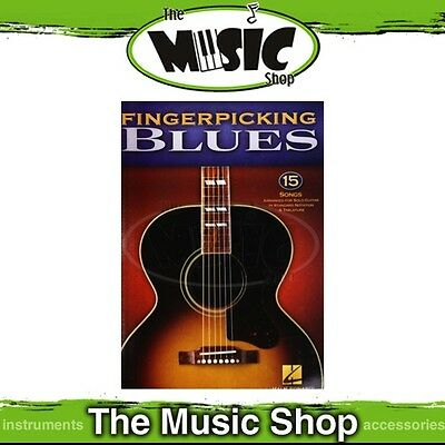 New Fingerpicking Blues Guitar Solos Songbook - Music Book