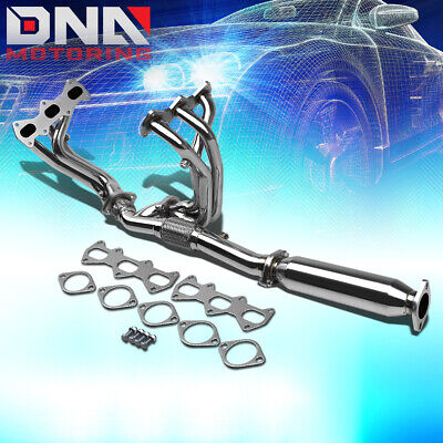Stainless 6-2-1 Header+Flex Y-Pipe For 03-06 Gk Delta 2.7 V6 Exhaust/manifold