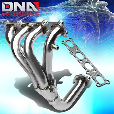 Stainless Steel 4-1 Header For 01-03 Mazda Protege 2.0 4Cyl Bj Exhaust/manifold