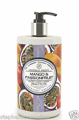 Tropical Fruits Mango & Passionfruit Hand & Body Lotion 500ml