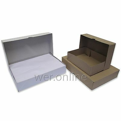 A4 and A5 Ream Boxes-Base and Lid Storage Packaging Packing Boxes Printers Box