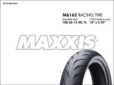 ZOOMER RUCKUS Agility JET GY6 50 125 150cc - MAXXIS M6162 Racing Tire 100/65-12