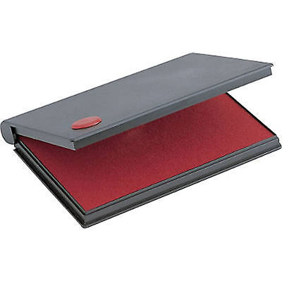 "RED Stamp Pad Size #2, Large  (6-1/4"" x 3-1/4"") 2000 Plus"