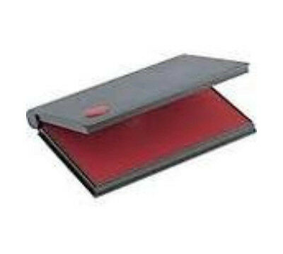 """RED Rubber Stamp Pad - Felt Ink Pad Size #1 (4-1/4"""" x 2-3/4"""")"""
