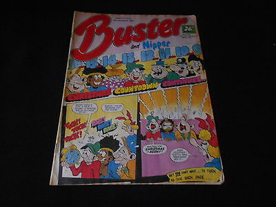 Buster and Nipper Comic 19th December 1987