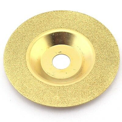 "4""  100mm Grit 150 Diamond coated grinding disc wheel convex For Angle Grinder"
