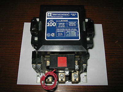 Telemecanique 100A Mechanically Latched Lighting Contactor, A143E, New