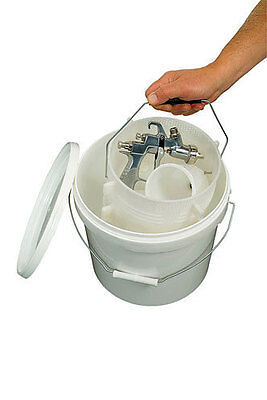 Powertec Spray Gun Professional Soak Tank * Quick & Easy To Use