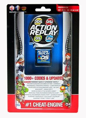 New Nintendo Datel Action Replay Cheat System for 3DS, DSi XL, DSi, DS Lite
