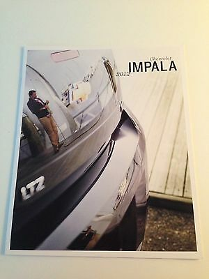 2012 Chevy Impala 16-page Original Sales Brochure