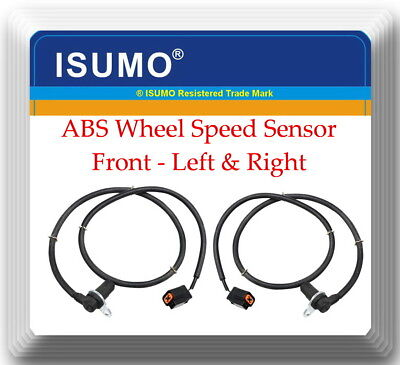Front Left & Right ABS WHEEL SPEED SENSOR Fits: Mitsubishi Montero 2001 - 2006