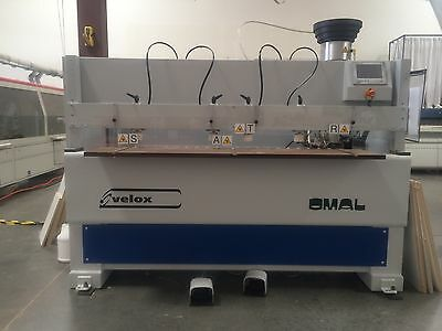 Omal Velox 1300 CNC Drill and Dowell machine NEW Woodworking Machinery
