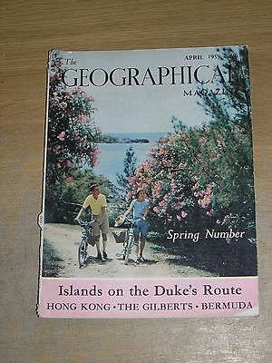 The Geographical Magazine April 1959