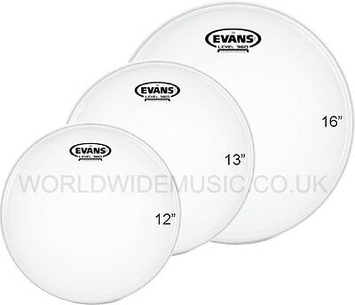 "Evans G2 Coated Standard Tom Tom Drum Head Pack -  12"" 13"" 16""      ETP-G2CTD-S"