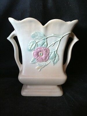 Vintage Hull USA, 509 6 1/2, Dogwood Two Handled Vase