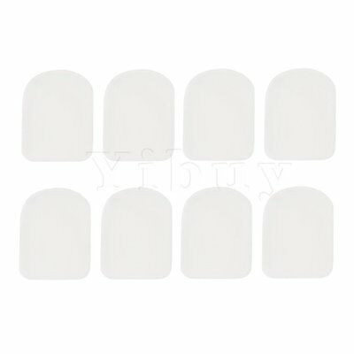 Transparent 8 Mouthpiece patches Pad Soprano Saxophone