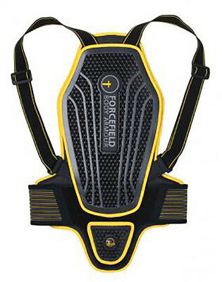 Neuf Protection dorsale moto scooter quad FORCEFIELD PRO L2 Kevlar EVO taille M