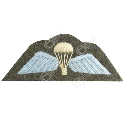 British RAF Army PARA PARACHUTE WINGS Uniform Patch WW2 Repro Arm Parachute New