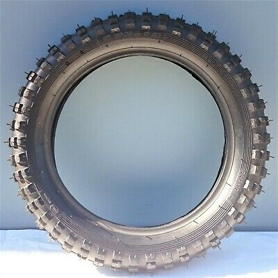 "12 inch front knobby tyre with tube 12"" 2.75/12 tyre, dirt bike, pit bike, CRF"
