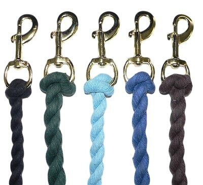 Cotton Lead Rope 2 Mtr  - choice of Colours  £1.60