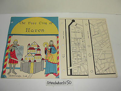 The Free City Of Haven 1st Edition Gamelords 1981 Thieves Guild Fantasy RolePlay